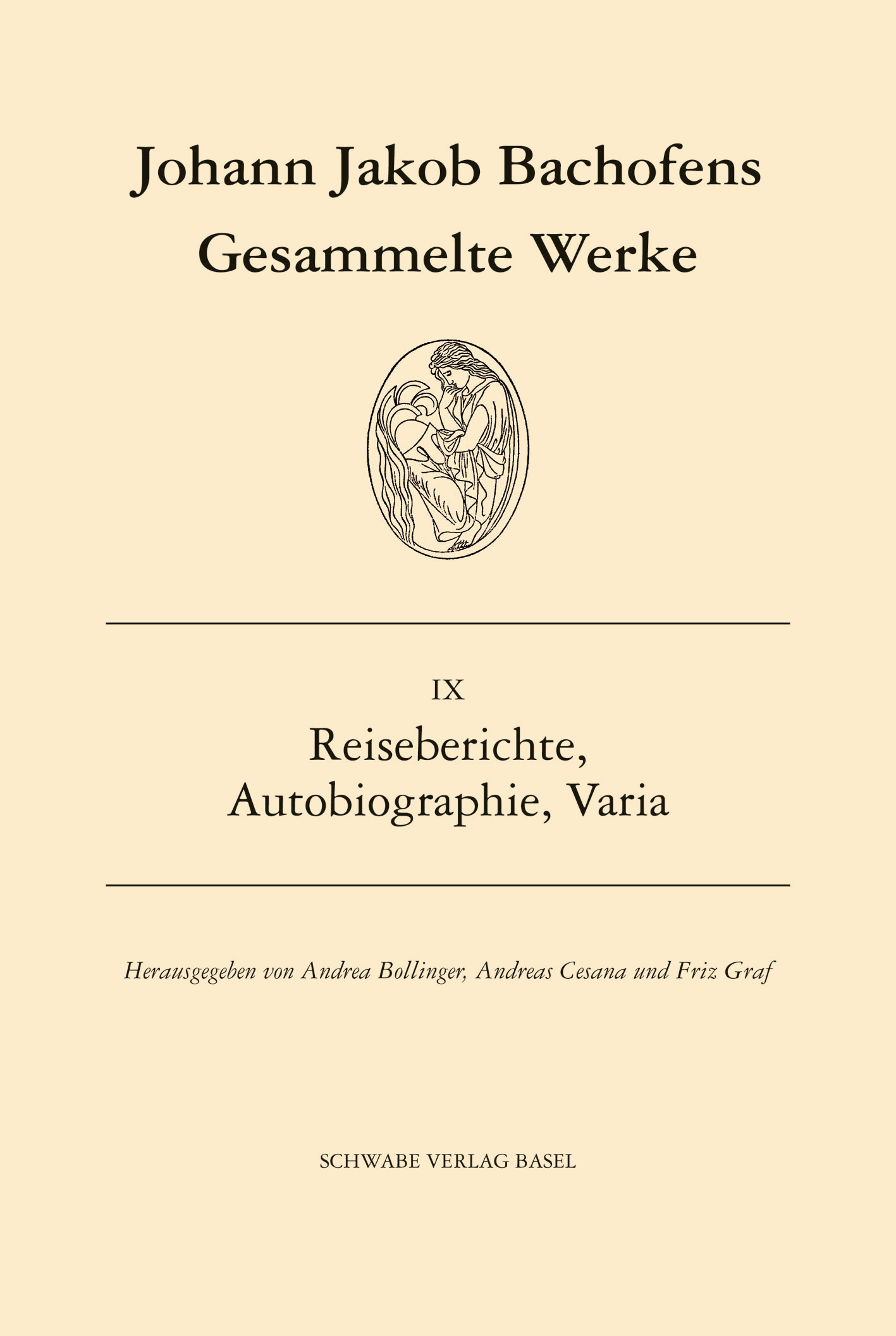 Johann Jakob Bachofens Gesammelte Werke (Leinen)