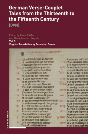 German Verse-Couplet Tales from the Thirteenth to the Fifteenth Centuries