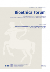 Bioethica Forum 2012 / Volume 5 / No. 2