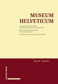 Museum Helveticum - Vol. 78 Fasc. 1