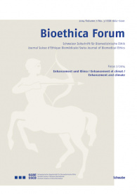 Bioethica Forum 2014 / Volume 7 / No. 3