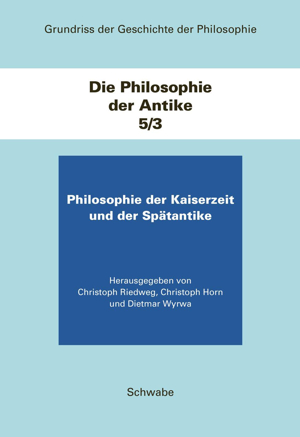 Die Philosophie der Antike