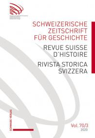 SZG Vol. 70 / 2020 / Nr. 3