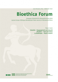 Bioethica Forum 2010 / Volume 3 / No. 1