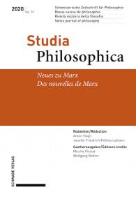 Neues zu Marx / Des nouvelles de Marx