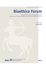 Bioethica Forum 2011 / Volume 4 / No. 1