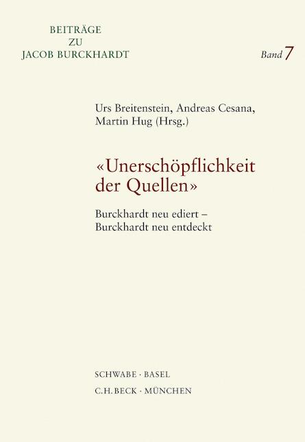 Beiträge zu Jacob Burckhardt