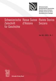 SZG Vol. 63 / 2013 / Nr. 1