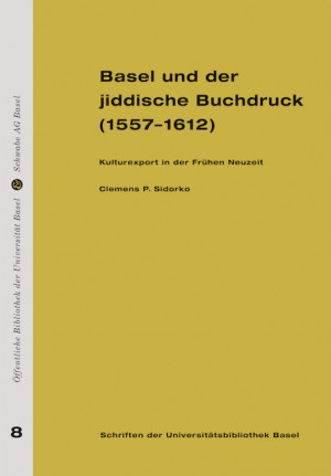 Schriften der Universitätsbibliothek Basel