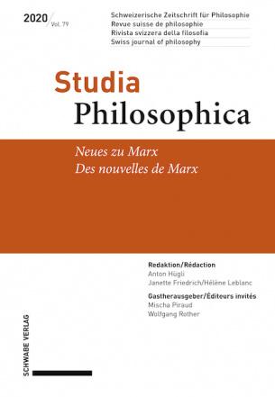 Neues von Marx / Des nouvelles de Marx