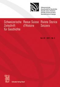 SZG Vol. 61 / 2011 / Nr. 2