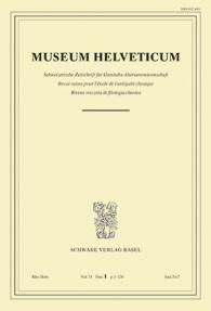 Museum Helveticum - Vol. 74 Fasc. 1
