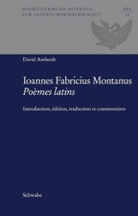 Johannes Fabricius Montanus Poèmes latins