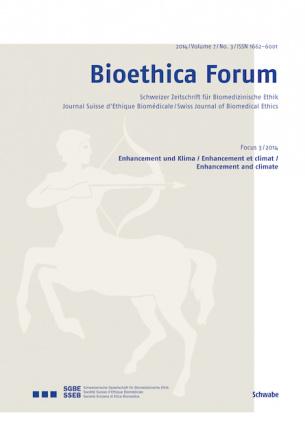 Bioethica Forum 2014 / Volume 7 / No. 3