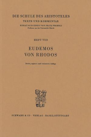 Die Schule des Aristoteles. Texte und Kommentar
