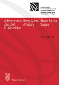 SZG Vol. 61 / 2011 / Nr. 4
