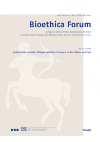 Bioethica Forum / Volume 11 / No. 4