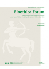 Bioethica Forum 2010 / Volume 3 / No. 2