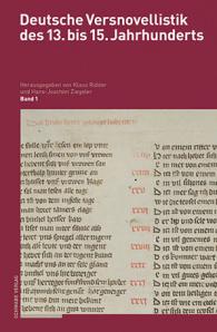 Deutsche Versnovellistik des 13. bis 15. Jahrhunderts. Edition und Kommentar.