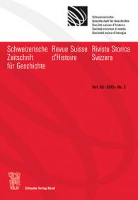 SZG Vol. 65 / 2015 / Nr. 2