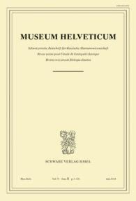 Museum Helveticum - Vol. 75 Fasc. 1