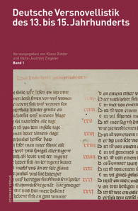 Deutsche Versnovellistik des 13. bis 15. Jahrhunderts (DVN)