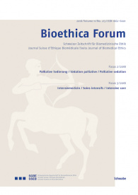 Bioethica Forum / Volume 11 / No. 2-3