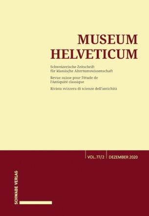 Museum Helveticum - Vol. 77 Fasc. 2
