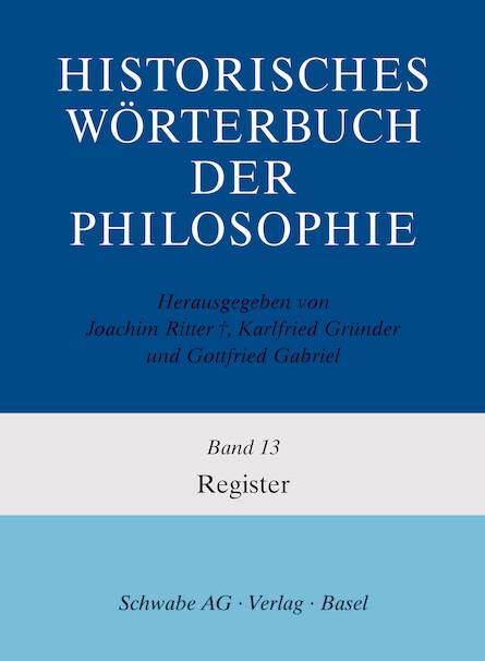 Historisches Wörterbuch der Philosophie