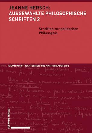Schriften zur politischen Philosophie