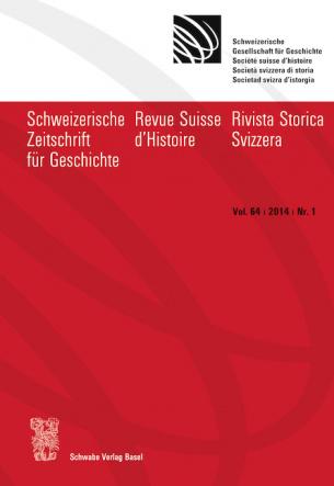 SZG Vol. 64 / 2014 / Nr. 1