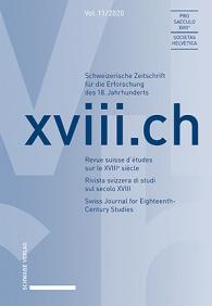 xviii.ch, Vol. 11/2020