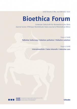 Bioethica Forum / Volume 11 / No. 2-3