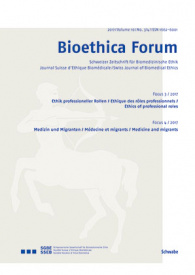 Bioethica Forum / Volume 10 / No. 3-4