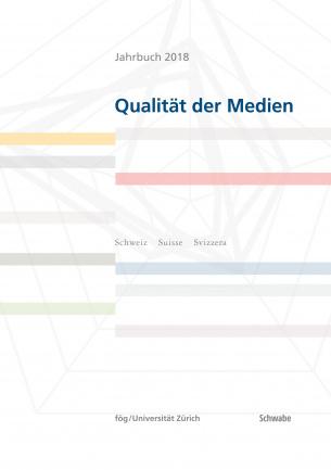 Jahrbuch 2018 Qualität der Medien