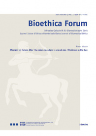 Bioethica Forum 2011 / Volume 4 / No. 2