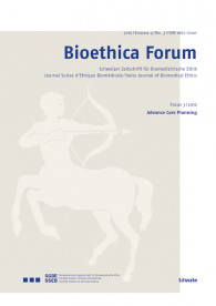 Bioethica Forum / Volume 9 / No. 3